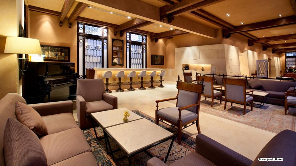 hôtel de luxe jordanie